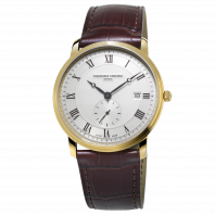 Frédérique Constant Slimline Small Second Gold PVD Men's watch