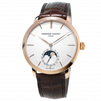 Frédérique Constant - Slimline Moonphase Manufacture Rose Gold