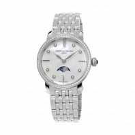 Frédérique Constant Slimline Moonphase Diamond Ladies Watch FC-206MPWD1SD6B