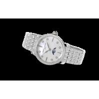 Frédérique Constant Slimline 30 mm Månfas Damklocka Diamant  FC-206MPWD1SD6B