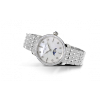 Frédérique Constant Slimline Moonphase Diamond Ladies Watch FC-206MPWD1SD6B