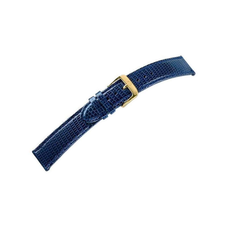 LIZARD STITCHED leather strap