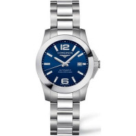 Longines - Conquest Blue Steel Lady's Watch
