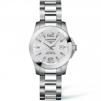 Longines - Conquest Automatic Ladies Silver