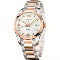 Longines - Conquest Classic Automatic Rosé guld 40 mm