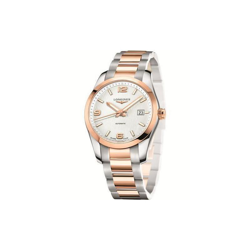 Longines - Conquest Classic Automatic Rosé guld 40 mm L27855767