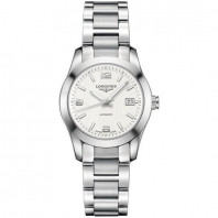 Longines - Conquest Classic Silver Steel Lady's Watch