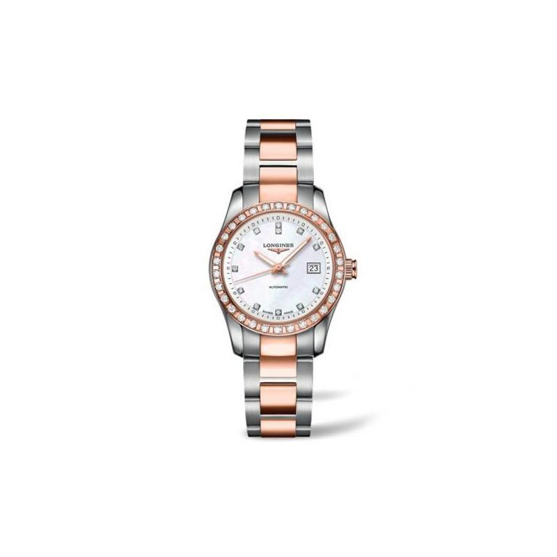 Longines - Conquest Classic Ladies watch Diamonds