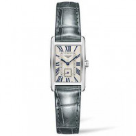 Longines - DolceVita Silver Flinque Leatherstrap