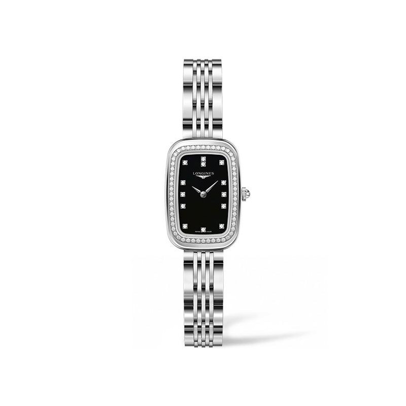 Longines - Equestrian Diamonds Black Lady