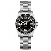 Longines - HydroConquest, Black 29.5 mm Steel Lady