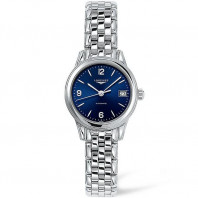 Longines - Flagship 26mm Blue Steel Lady's Watch