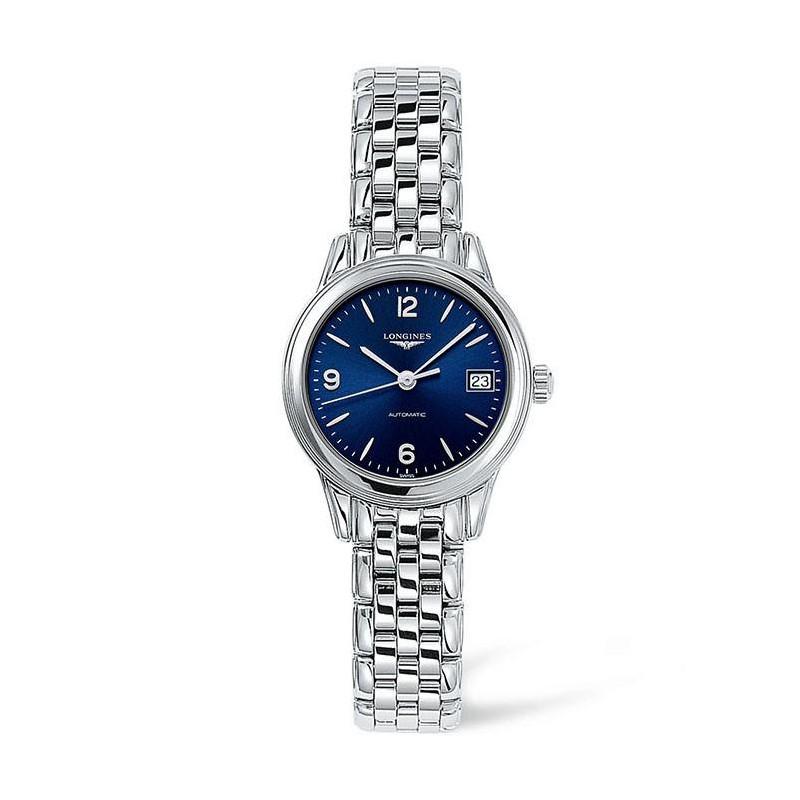 Longines - Flagship 26mm Blue Steel Lady's Watch