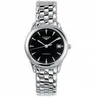 Longines - Flagship Black Steel 35.6mm