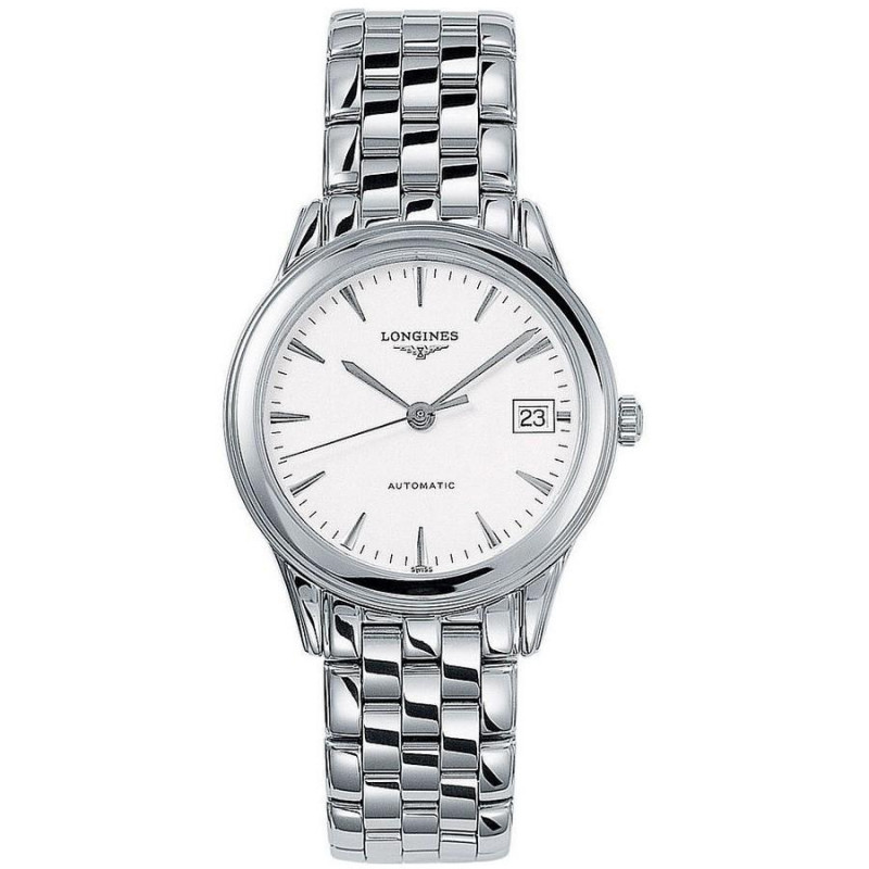 Longines - Flagship 35.60mm White dial and bracelet L47744126