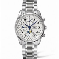 Longines - Master Full Calendar Moon Phase & bracelet 40 mm L26734786