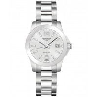 Longines Conquest- Silver...