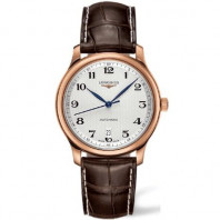 Longines Master Collection Men's watch white and leather strap