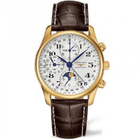 Longines Master Men's watch moonphase & leather strap