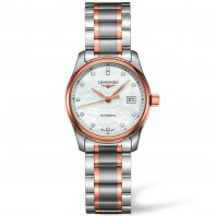 Longines Master Collection damklocka diamanter och rose guld