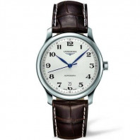 Longines Master Gent's 38.5 mm leather strap