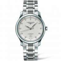 Longines Master 38.5 mm DIamond White Steel Gent's Watch