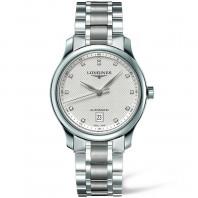 Longines Master  38.5 mm DIamond White Steel Gent's Watch