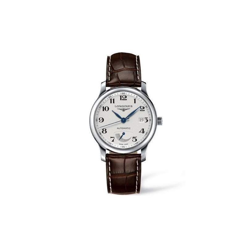 Longines Master Power Reserve & läderband L27084783
