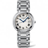 Longines - Prima Luna 30 mm Steel Quartz Lady's Watch