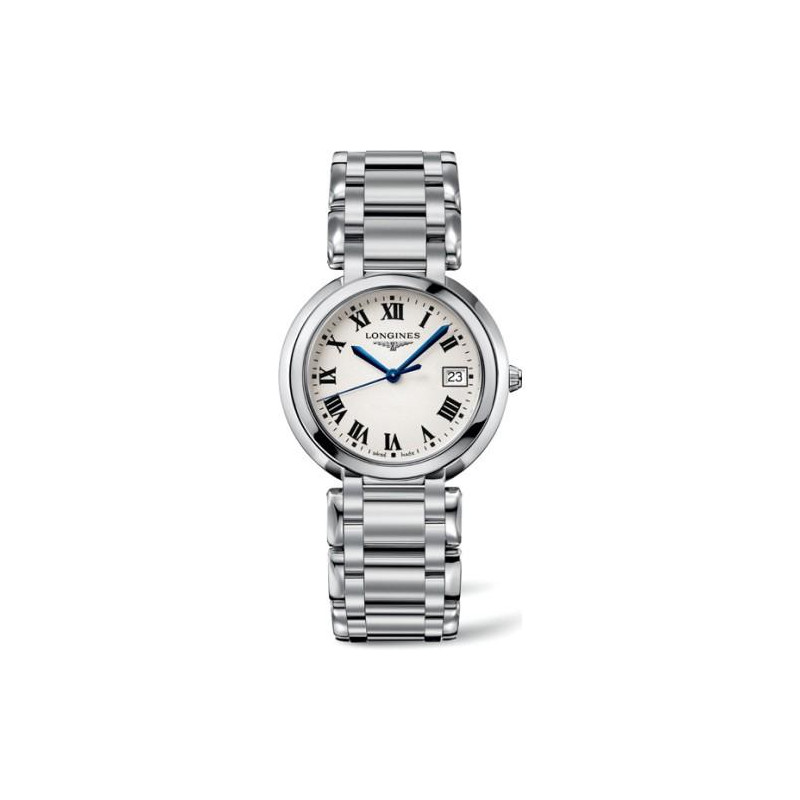 Longines - Prima Luna- Silver Steel Lady's watch