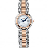 Longines- PrimaLuna- Automatic MOP Diamond Steel & Gold Lady's Watch