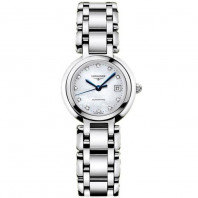 Longines - PrimaLuna 26.5 mm Mother-of-Pearl & Diamonds Automatic Lady's Watch