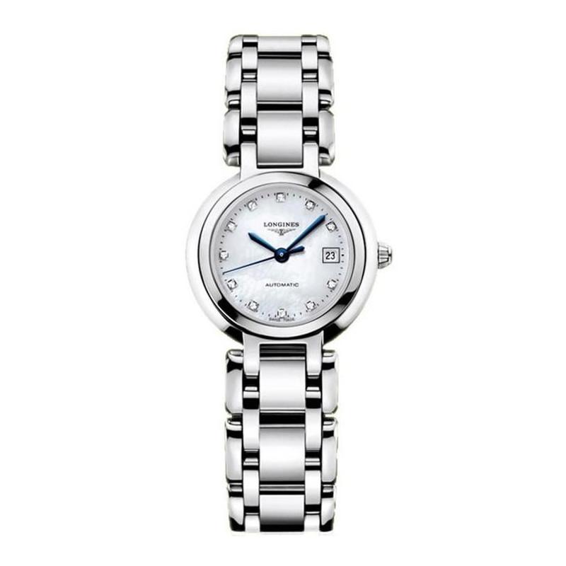 Longines PrimaLuna - MOP Diamonds Steel Lady's Watch