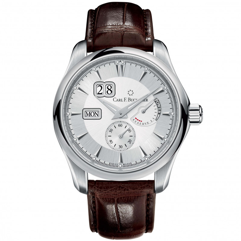 Manero Automatic Men's Watch Power reserve Silver