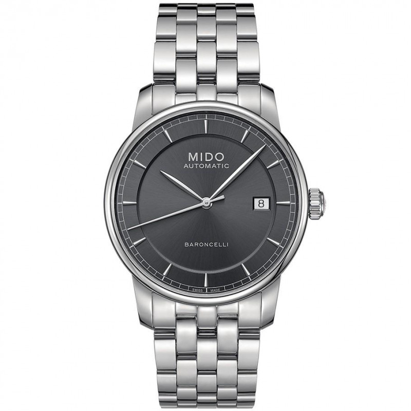 MIDO Baroncelli - Automatic Grey Steel Gent's