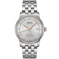 MIDO Baroncelli - Automatic Silver Steel Gent's