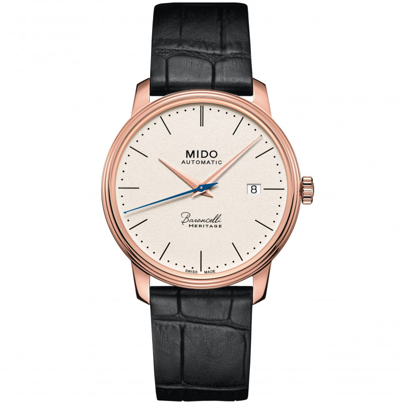 MIDO Baroncelli Heritage - Automatic gent's rose gold