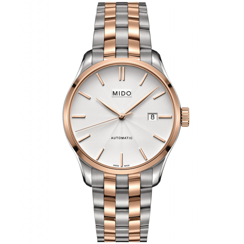 MIDO Belluna automatic gold&steel men's watch M0244072203100