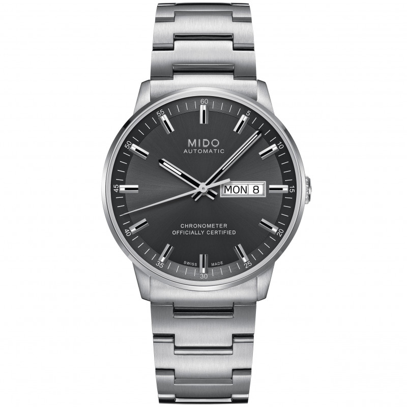 MIDO COMMANDER - Automatic Chronometer Certified - Grey Dial M0214311106100
