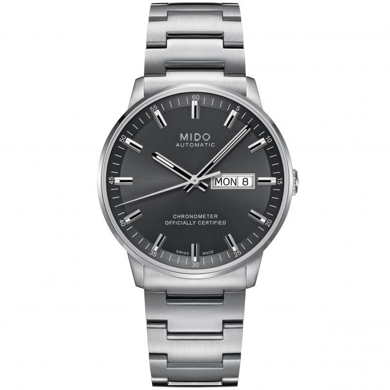 MIDO COMMANDER - Automatic Chronometer Certified - Grå urtavla M0214311106100
