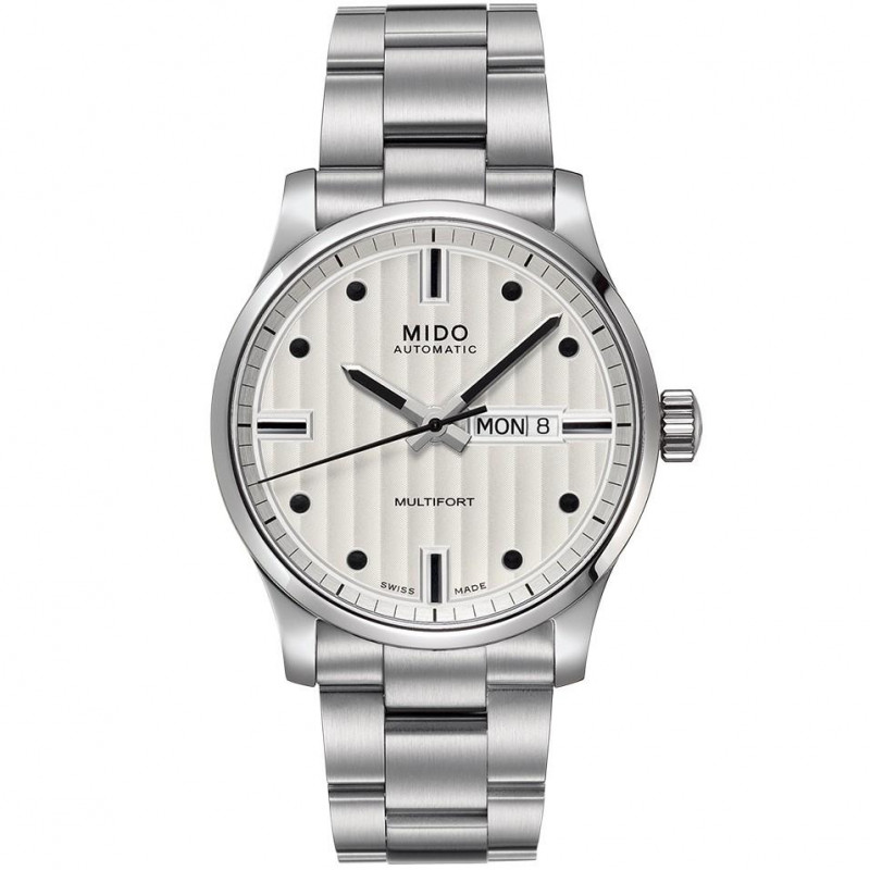 MIDO Multifort - Automatic White Steel  Gent's