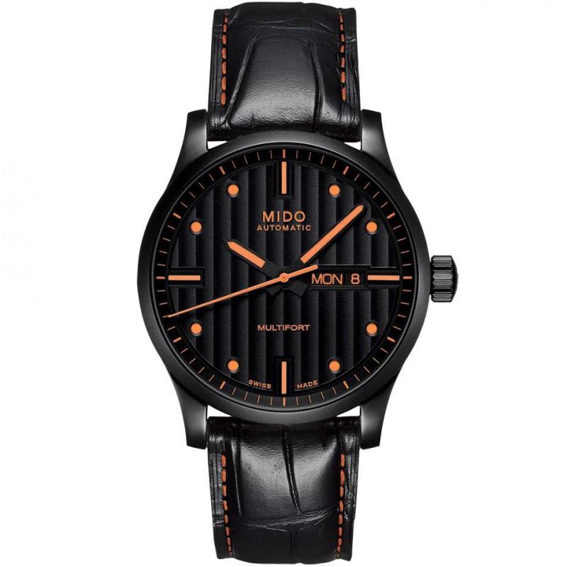 MIDO Multifort - Automatic gent black & orange