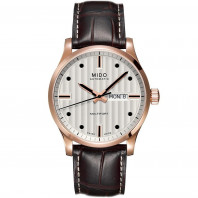 MIDO Multifort - Automatic White Rose Gold Leatherstrap Gent's