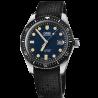 Oris Divers Sixty-Five Blue & rubber strap 73377204055-0742118