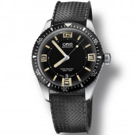 Oris Divers Sixty-Five Black Rubber Strap