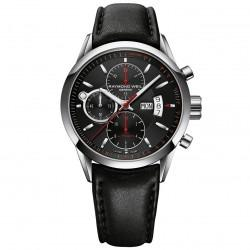 Raymond Weil - Freelancer black & red dial