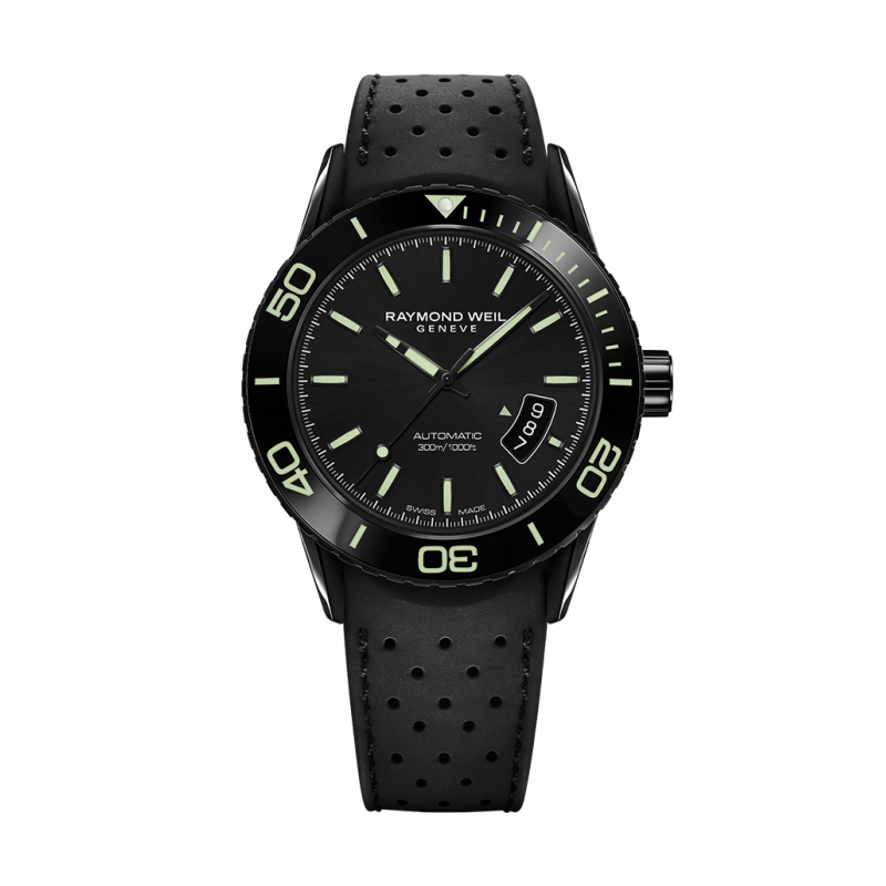 Raymond Weil - Freelancer Diver Black