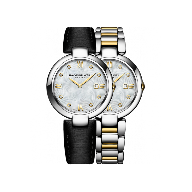"Raymond Weil - Shine - ""Etoile"" Special Edition- 8 Diamonds Steel"