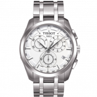 Tissot - Couturier Quartz with Stainless steel bracelet and silver dial T0356171103100