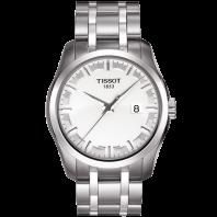 Tissot - Couturier Quartz med metallarmband och silver urtavla T0354101103100